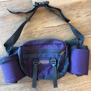JANSPORT Vintage 90's Purple Fanny Pack